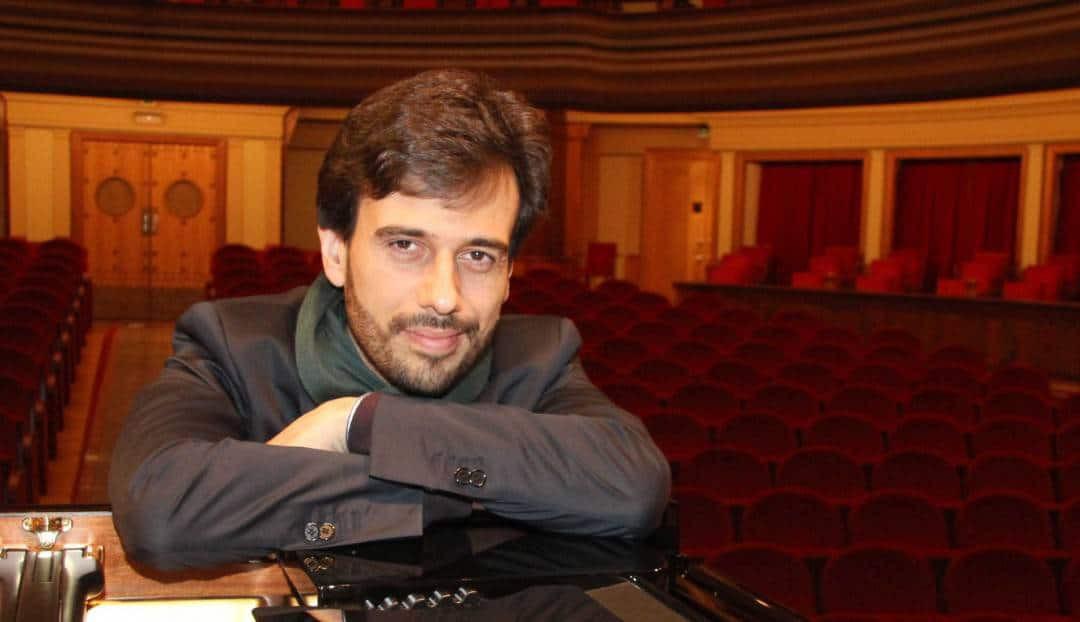 El pianista Iván Martín vuelve al Teatro Pérez Galdós