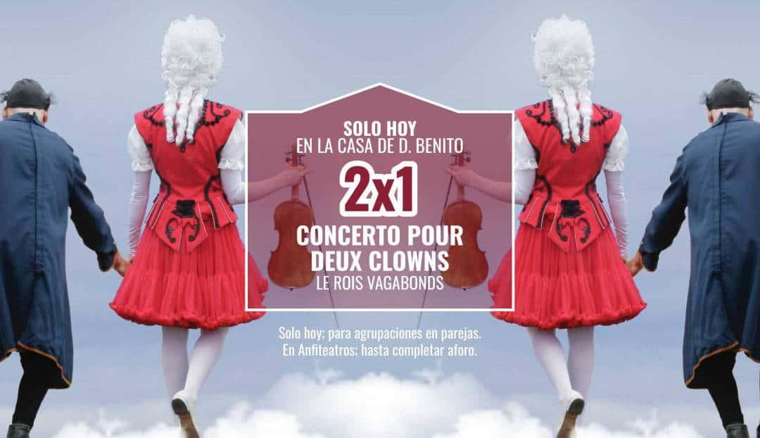 Imagen noticia - Concerto pour deux clowns, una oferta para toda la familia