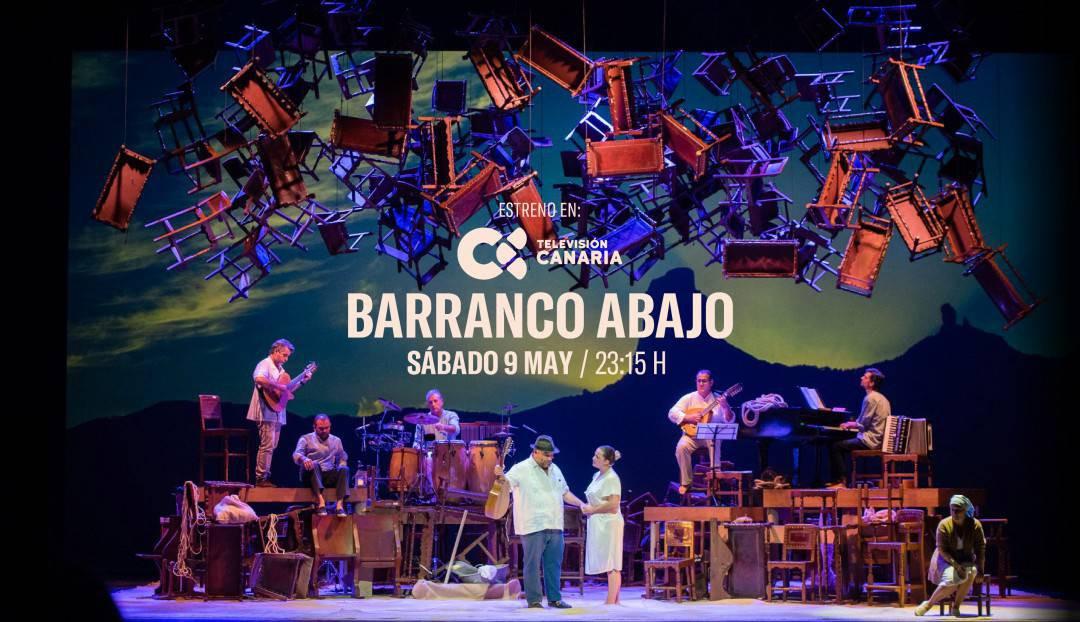 Barranco Abajo, el sábado 9 de mayo en Televisión Canaria