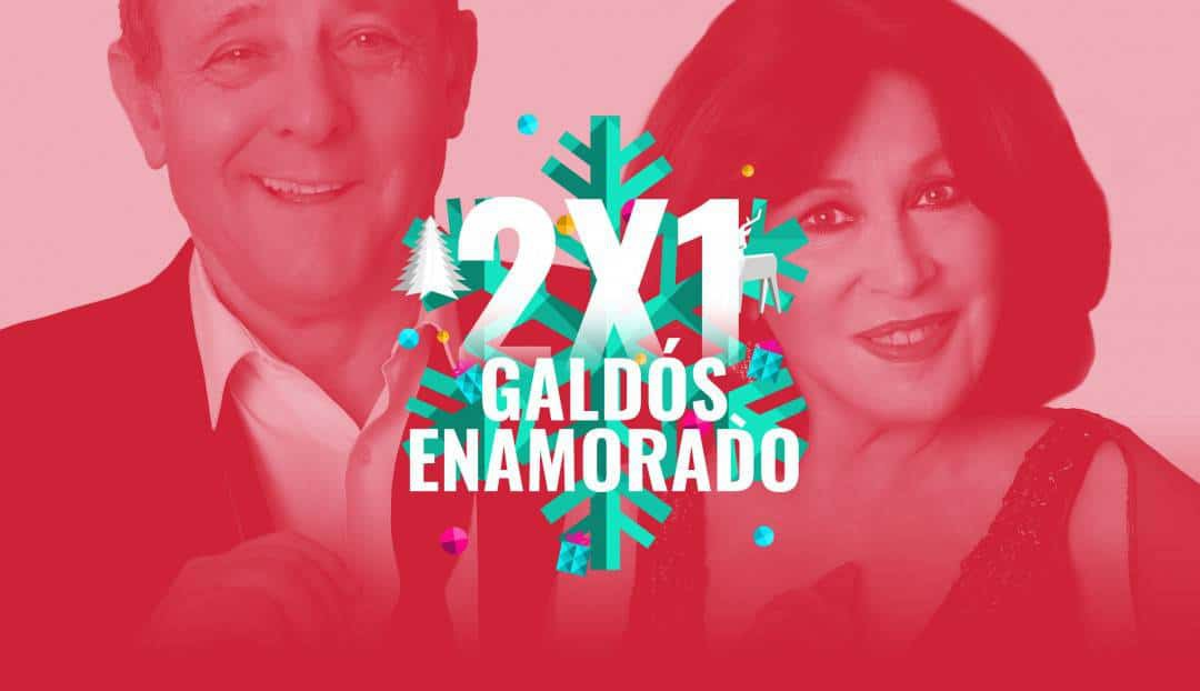 Nuestra oferta navideña de hoy: oferta 2x1 en Galdós Enamorado.