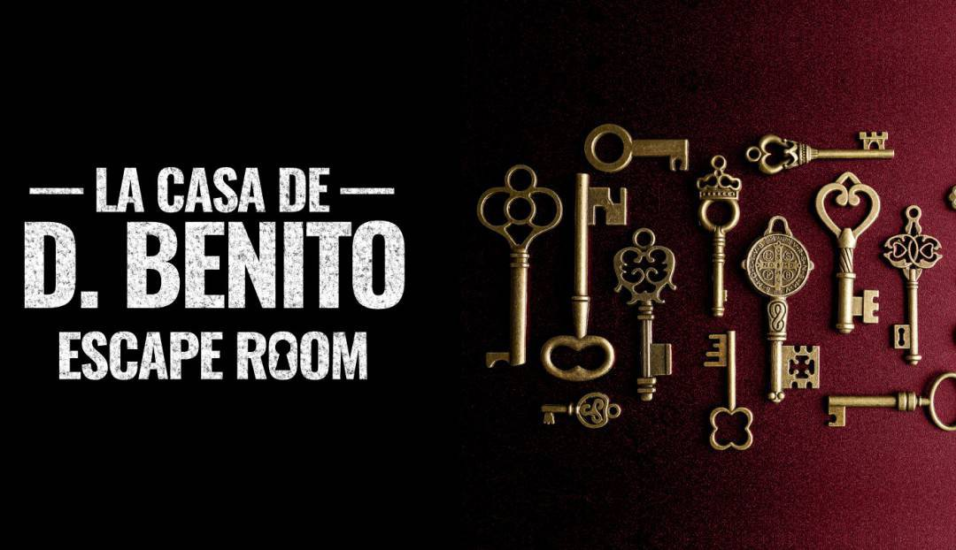 La casa de D. Benito, un escape room imprescindible