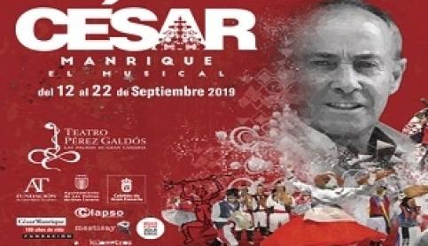 Imagen noticia - César Manrique, el Musical: entradas ya a la venta