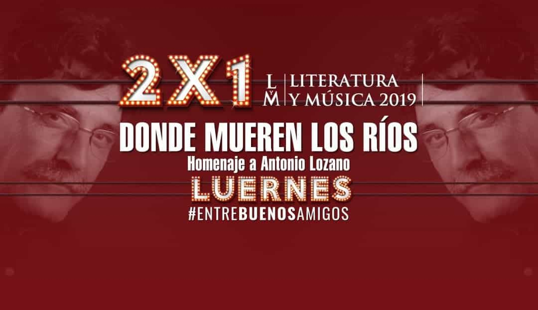 Palabra, música y sal para rendir homenaje al escritor Antonio Lozano