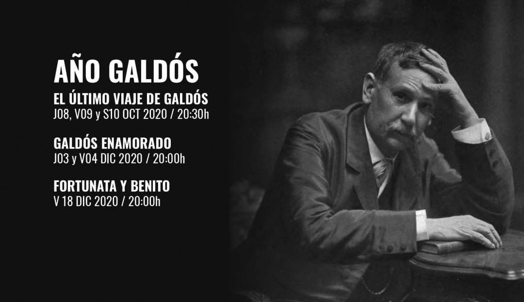 Imagen noticia - El Teatro Pérez Galdós dedica tres espectáculos al escritor grancanario que le da nombre