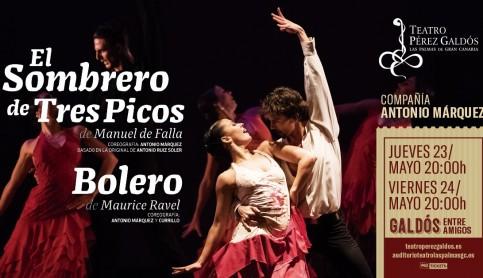 El arte de Antonio Márquez, protagonista en el Teatro Pérez Galdós
