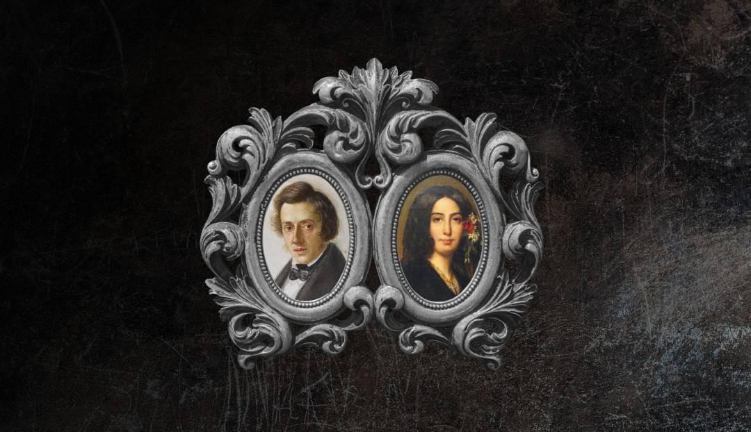 Frederic Chopin y George Sand, una de las historias de amor más conocidas del mundo
