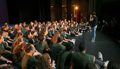 Imagen noticia - El proyecto municipal Across Hip Hop celebra la muestra final de su 9.ª edición en el Teatro Pérez Galdós